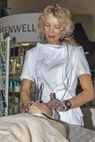 Intercharm XVII zawody międzynarodowi wystawa fachowi kosmetyki i wyposażenie dla piękno salonów Zdjęcie Stock