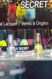 Intercharm XXI Międzynarodowa mydlarnia i kosmetyka Moskwa jesieni gwoździa Powystawowy lakier Zdjęcia Royalty Free