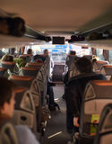 Intercity λεωφορείο επιβατών στοκ εικόνες με δικαίωμα ελεύθερης χρήσης