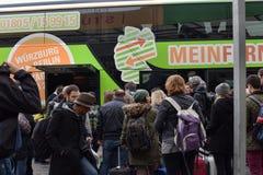 Intercity λεωφορείο επιβατών στοκ φωτογραφίες με δικαίωμα ελεύθερης χρήσης