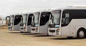 Intercity λεωφορείο στοκ εικόνες