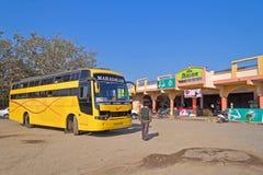 Intercity λεωφορείο Indiian στοκ φωτογραφίες με δικαίωμα ελεύθερης χρήσης