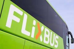 Intercity λεωφορείο Flixbus στοκ εικόνες