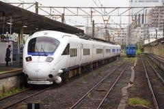 18 08 2015 885 Intercity περιορισμένο σαφές τραίνο Στοκ Φωτογραφία