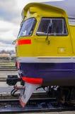 Intercity σαφές τραίνο Στοκ Εικόνες