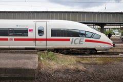 Intercity σαφής, Γερμανία στοκ εικόνα με δικαίωμα ελεύθερης χρήσης