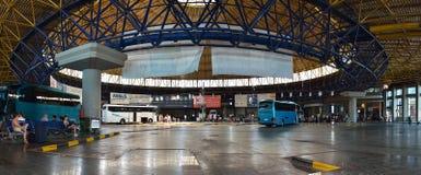 Intercity στάση λεωφορείου της Μακεδονίας σε Θεσσαλονίκη στοκ φωτογραφίες