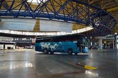 Intercity στάση λεωφορείου της Μακεδονίας σε Θεσσαλονίκη στοκ εικόνες με δικαίωμα ελεύθερης χρήσης
