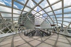 Intercity σταθμός τραμ Mordern στοκ φωτογραφίες