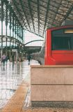 Intercity τραίνο στοκ φωτογραφία με δικαίωμα ελεύθερης χρήσης