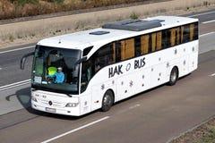 Intercity buss för HAK-BUSS royaltyfri fotografi