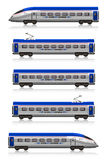 InterCity Express train set Royalty Free Stock Photo