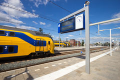 Intercity train Royalty Free Stock Images
