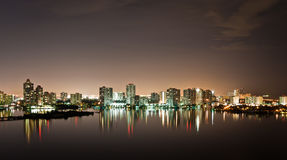 Intercoastal at night Stock Photography