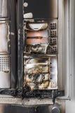 Intercom burned Royalty Free Stock Photos