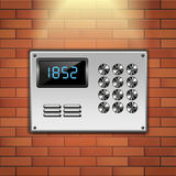 Intercom Royalty Free Stock Photo