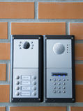 Intercom (security concept) Royalty Free Stock Photography