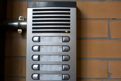 Intercom system Royalty Free Stock Images