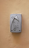Intercom keypad Royalty Free Stock Images