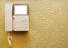 Intercom On The Wall Royalty Free Stock Photo