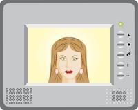 Intercomunicador com vídeo Ilustração Stock