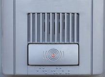 Intercomunicador da segurança Foto de Stock