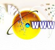 Interconexão - Internet - conectada ilustração do vetor
