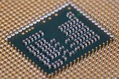 interconnected framtida information om det centrala begreppet microchipen som behandlar processorn som mottar överföra teknologie royaltyfria bilder