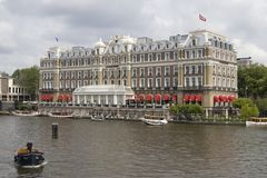 InterContinental. In Amsterdam the Netherlands Stock Images