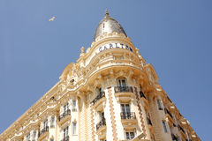 The InterContinental Carlton Cannes luxury hotel Royalty Free Stock Images