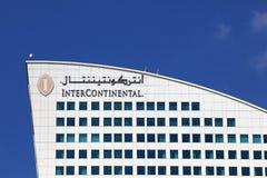 intercontinental dubai hotell Royaltyfria Foton