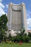 Intercontinental Hotel. From Bucharest On A Summer Day With Blue Sky Royalty Free Stock Photos