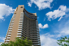 Intercontinental Hotel. In Bucharest, Romania Royalty Free Stock Photography