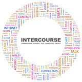 INTERCOURSE. Royalty Free Stock Photos