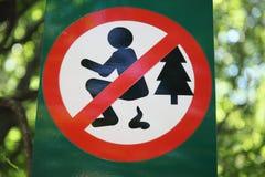 Interdiction des signes Photographie stock libre de droits