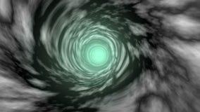 Interdimensional portalu tunel ilustracja wektor