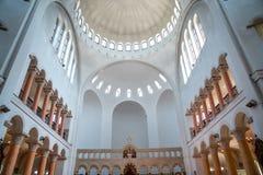 Interer of Poti Soboro Cathedral. It is a Georgian Orthodox church in downtown Poti, Georgia. Religion stock photos