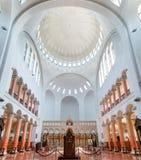 Interer of Poti Soboro Cathedral. It is a Georgian Orthodox church in downtown Poti, Georgia. Religion stock photo