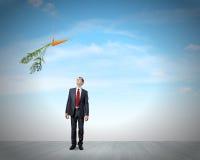 interes dorosłych biznesmena motywacji dojrzały działania obraz stock