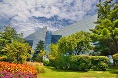 interes wysoki nowoczesny budynek drapacz chmur Fotografia Royalty Free
