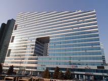 interes wysoki nowoczesny budynek drapacz chmur Obraz Stock