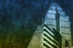 interes wysoki nowoczesny budynek drapacz chmur Obrazy Stock