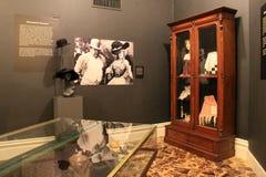 Interessante Ausstellung, die Geschichte des Prostitutions- und Pöbellebens umfasst, Canfield-Kasino, Saratoga Springs, New York, Lizenzfreies Stockfoto