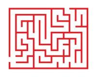 Interessante Labyrinthe des Vektors für Spiele vektor abbildung