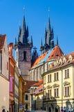Interessante Perspektive der Kirche Lizenzfreies Stockfoto