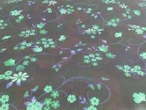 Interessante roxo azul verde das flores imagem de stock