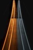Interessante und abstrakte gelbe und graue Leuchten Lizenzfreie Stockfotografie