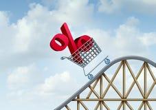 Interesse Rate Rise ilustração royalty free