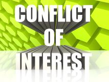 Interessenkonflikt Lizenzfreies Stockfoto