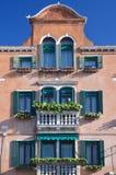 Interesserende Murano-architectuur stock fotografie